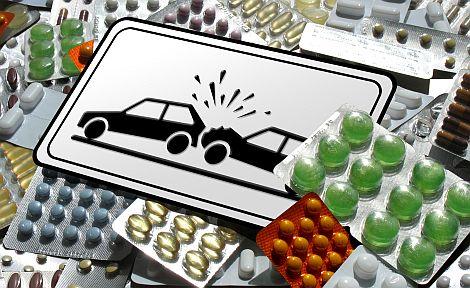 medikamente und autofahren passen nicht immer zusammen. Black Bedroom Furniture Sets. Home Design Ideas